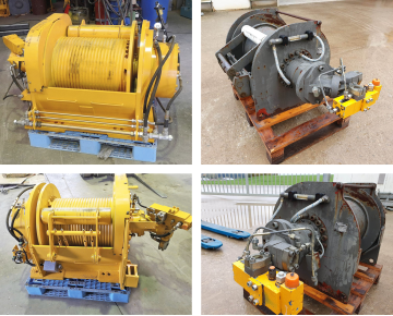Various used winches web