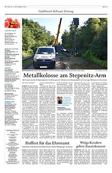 Gadebusch Rehnaer Zeitung